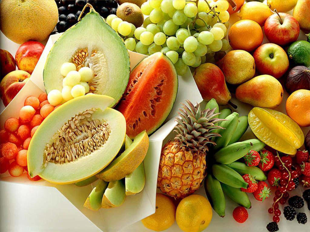 15 Fresh Fruit Wallpapers 1024x768