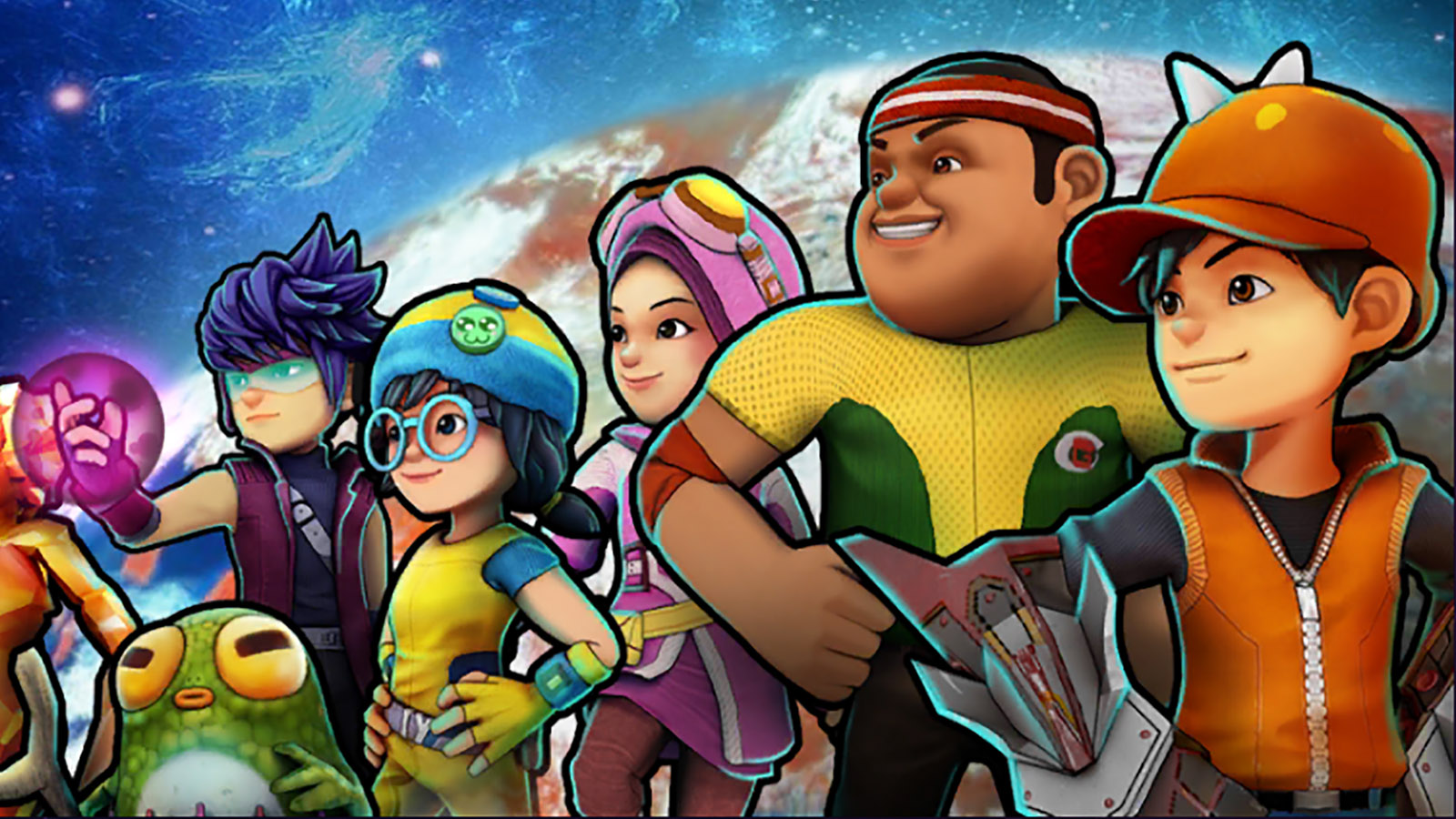 Review Game Mobile BoBoiBoy Galactic Heroes Game 1600x900