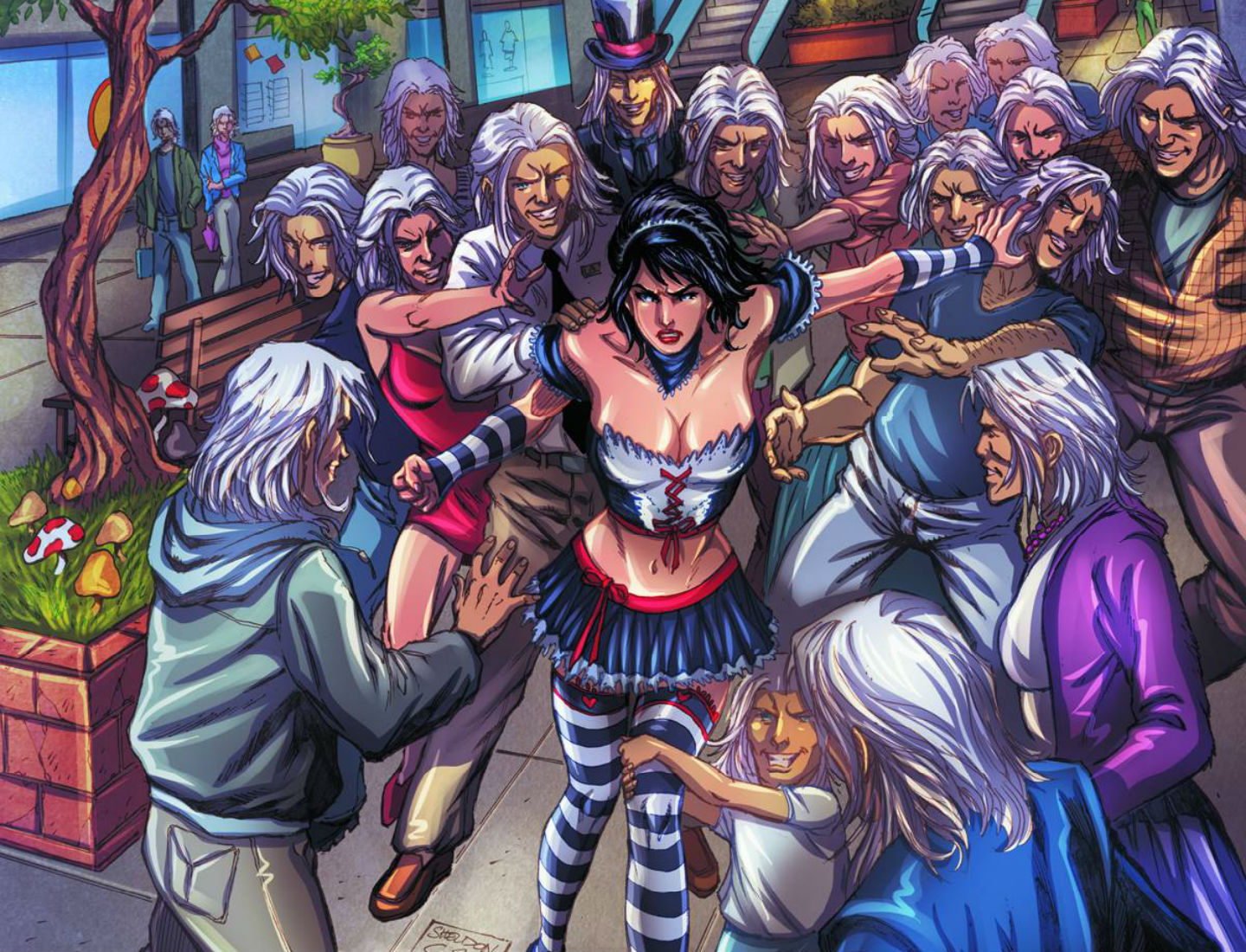 female grimm fairy tales wallpaper - photo #10