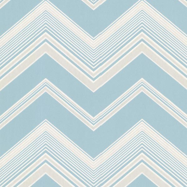 Bearden Light Blue Zig Zag Wallpaper Bolt   Contemporary   Wallpaper 600x600