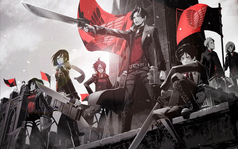 anime picture image attack on titan shingeki no kyojin hd wallpaper 1440x900