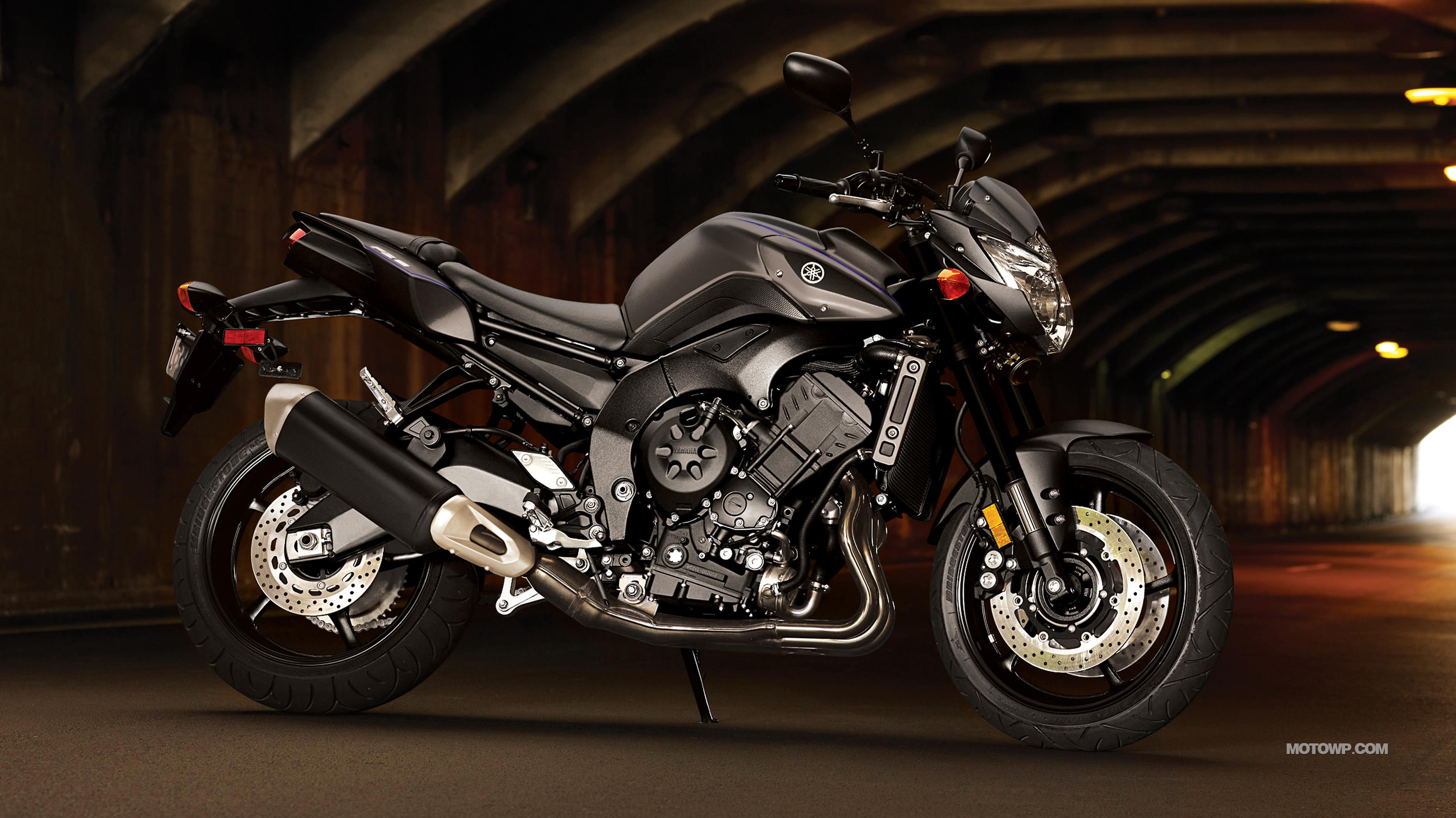 Motorcycles desktop wallpapers Yamaha FZ8   2013 3840x2160