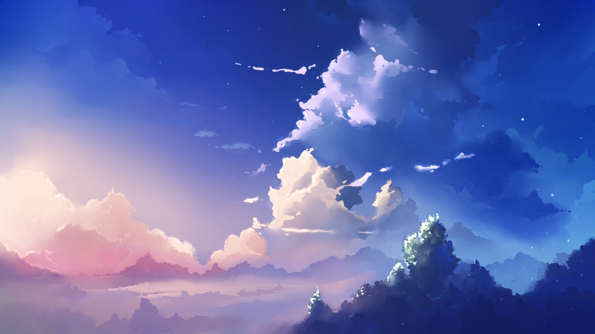Beautiful Sky Wallpaper Related Keywords amp Suggestions 1920x1080