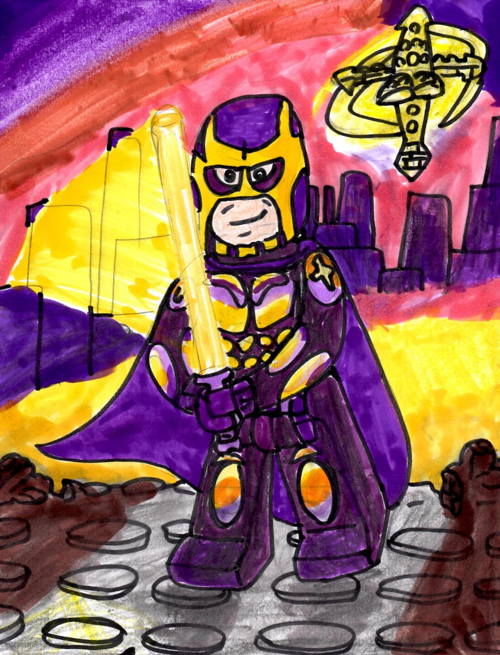 Lego Bibleman by SonicClone 1024x1342
