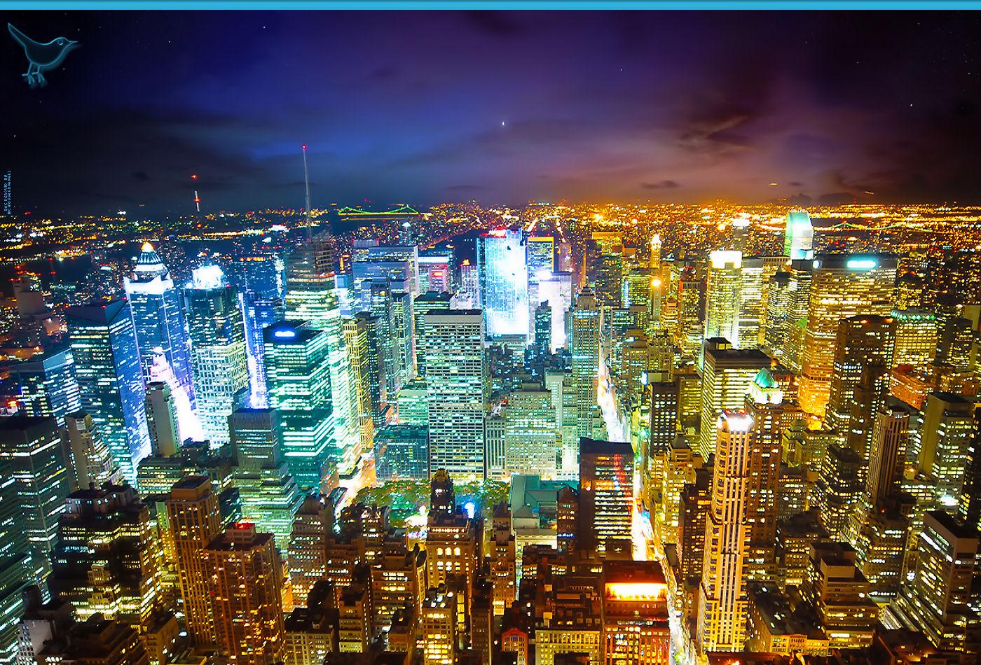 City Lights Twitter Backgrounds City Lights Twitter Themes 1400x950