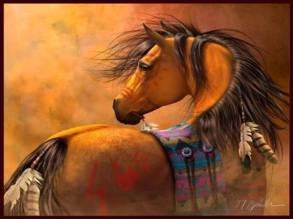 39 Indian Horse Wallpaper On Wallpapersafari