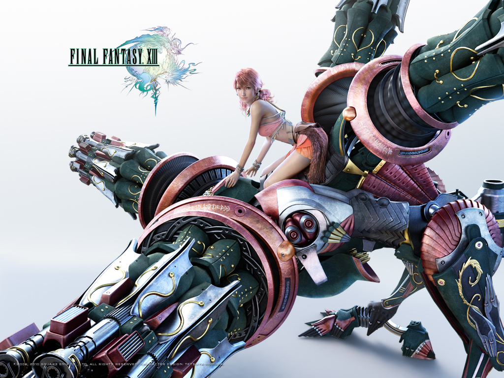 Final Fantasy XIII Wallpapers   Final Fantasy FXN Network 1024x768