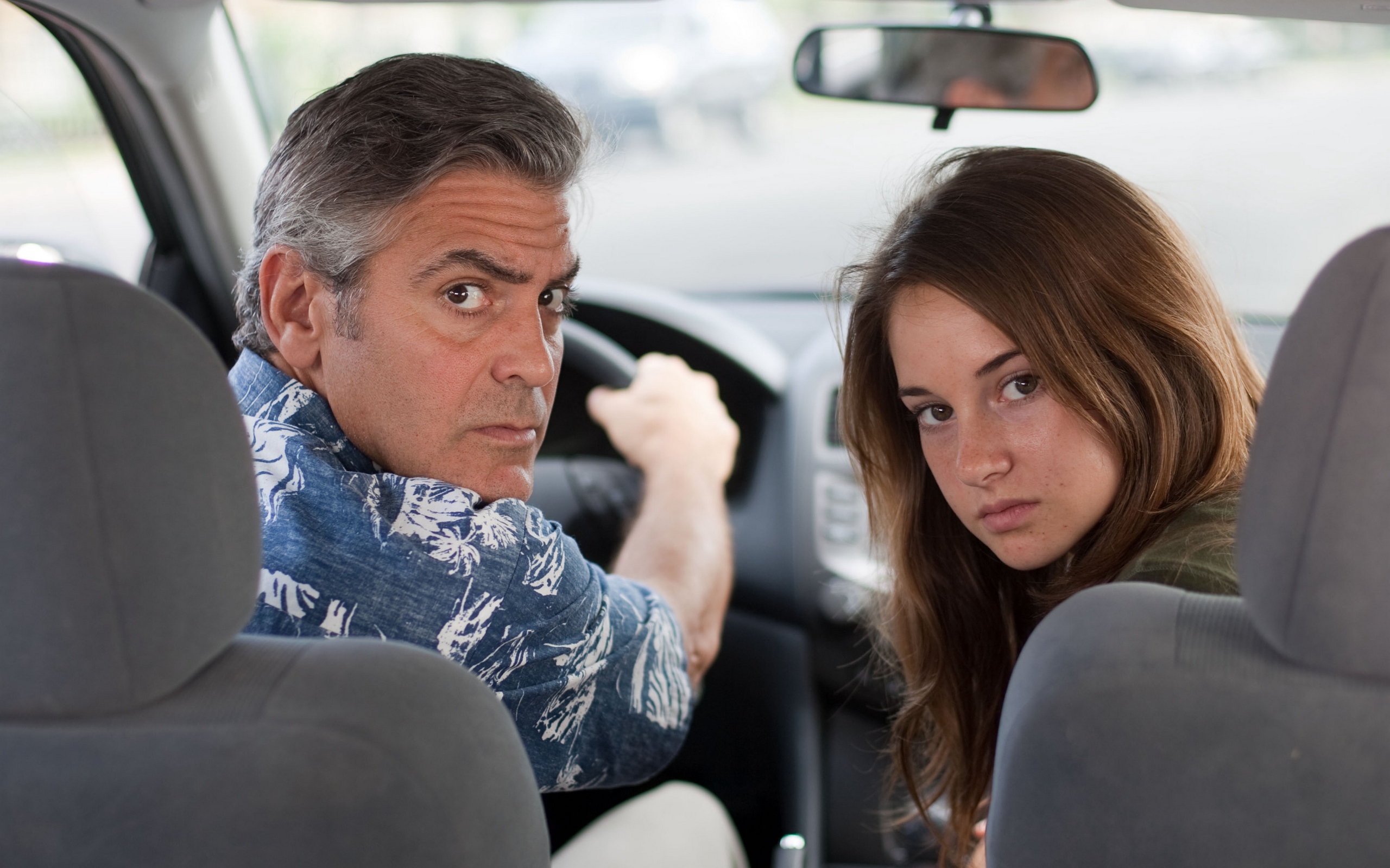 Download wallpaper 2560x1600 the descendants george clooney 2560x1600