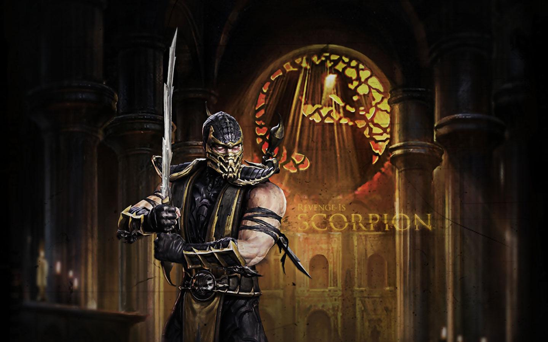 Mortal Kombat 2011 Scorpion Revenge Widescreen Wallpaper 1440x900