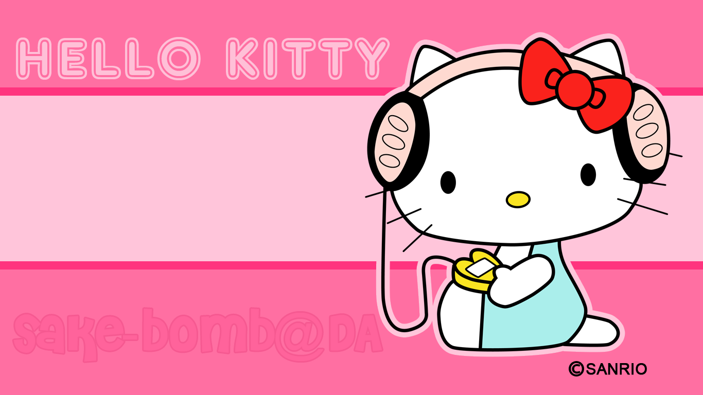 Hello Kitty HD Wallpapers 1366x768