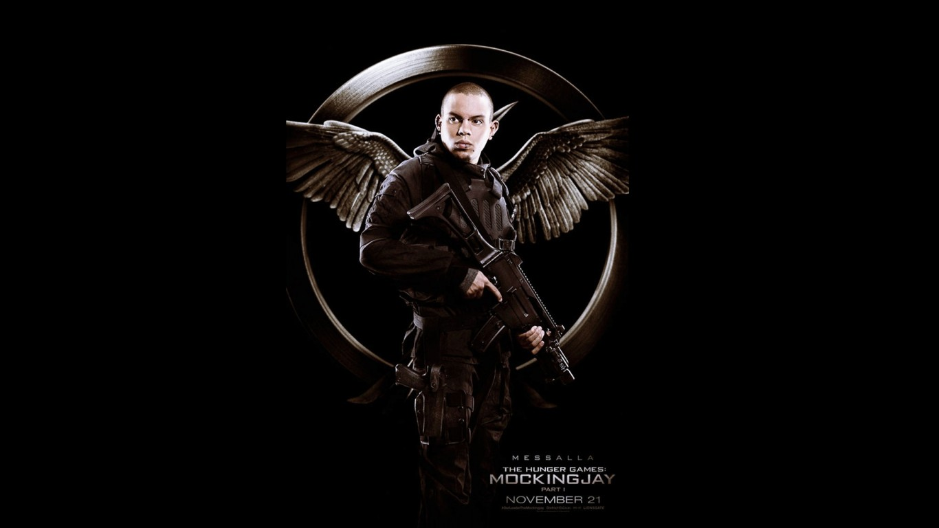 Evan Ross As Messalla Hunger Games Mockingjay Part 1 1366x768