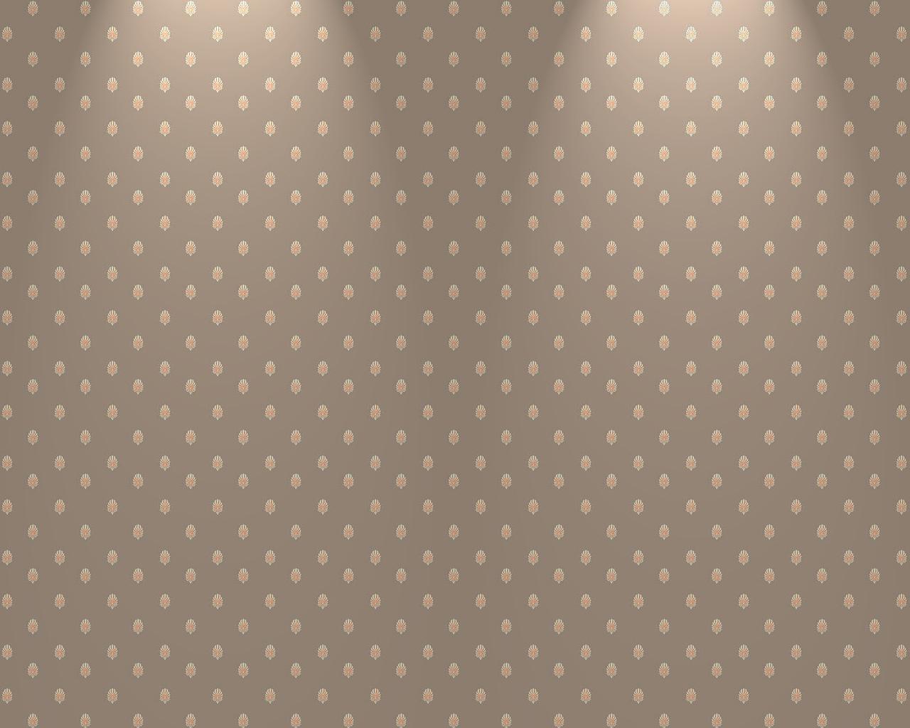 Victorian Pattern Brown Light 1280x1024