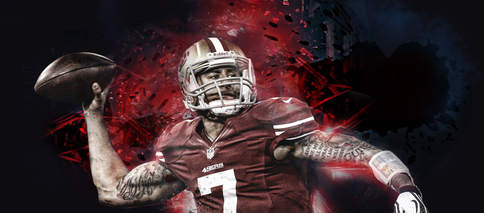Colin Kaepernick Images Wallpaper Best Cool Wallpaper HD 1920x844
