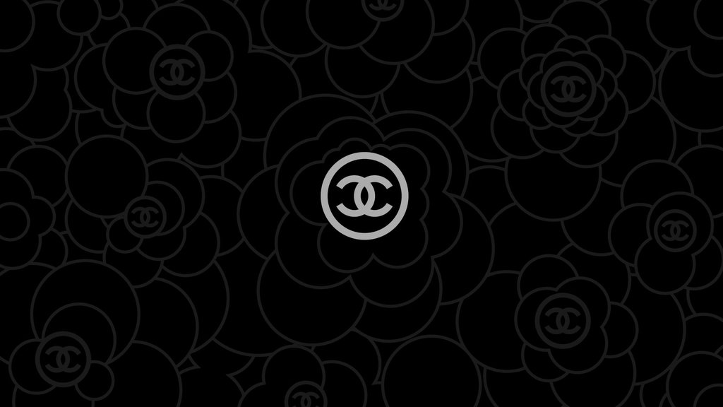 Chanel Logo Wallpapers Chanel Wallpaper 2 Black by 1024x576