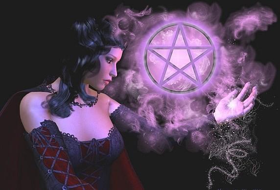 Wiccan Pentagram Wallpaper 572x388