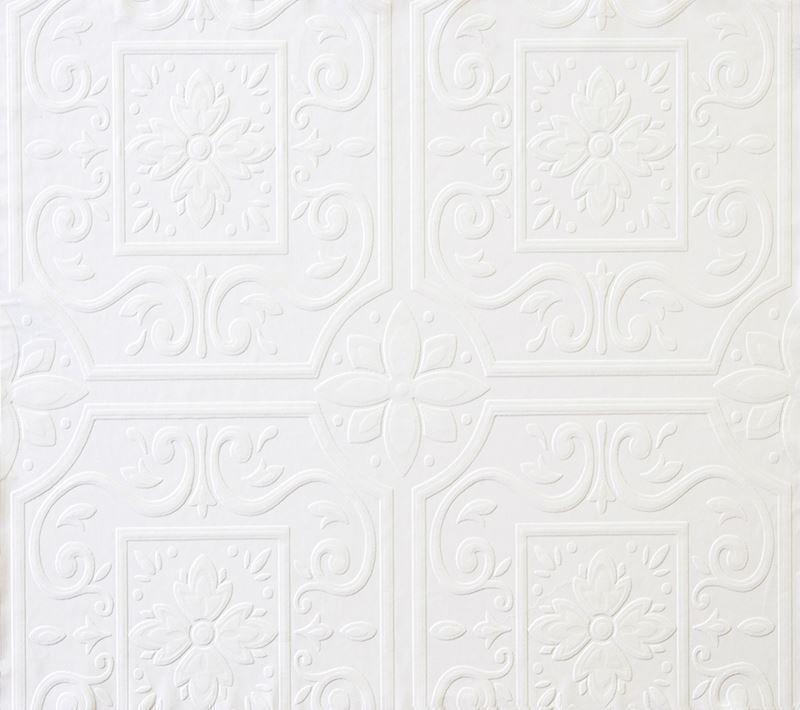 Paintable Wallpaper Tin Ceiling Wallpapersafari