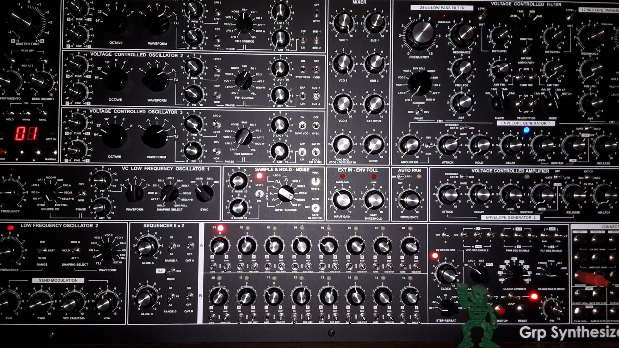 Modular Synthesizer Wallpaper Backgrounds   Larutadelsorigens 2048x1152