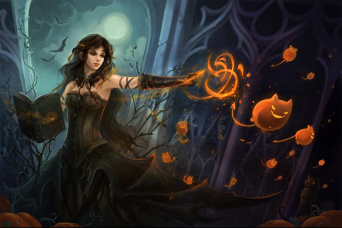 halloween by sandara 1095x730