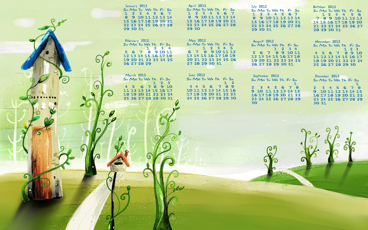 Desktop Wallpaper Calendars January 2012 Blog Website Templatesbz 1280x800