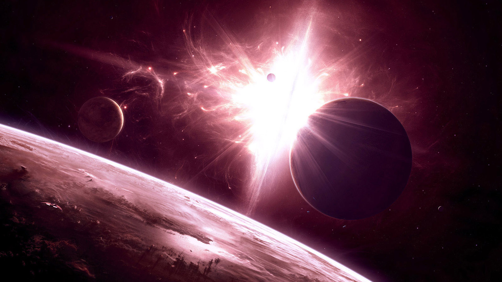 Space High Resolution Wallpapers 1080p 1920x1080