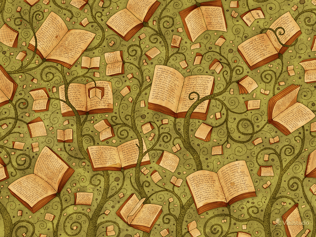 Book iPad wallpaper   Books 1024x768
