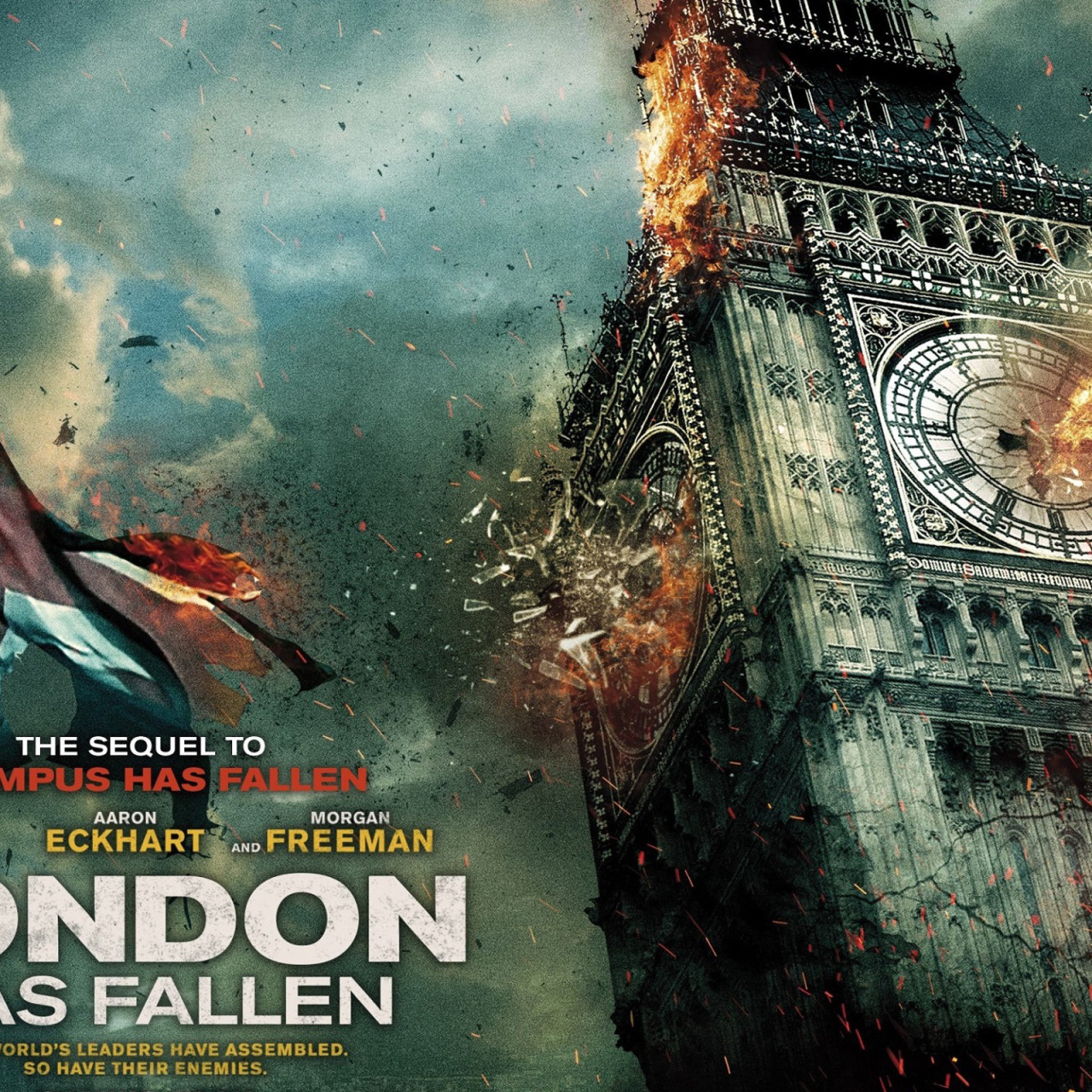 London Has Fallen 2015 Movie HD Wallpaper 4926 1280x1280
