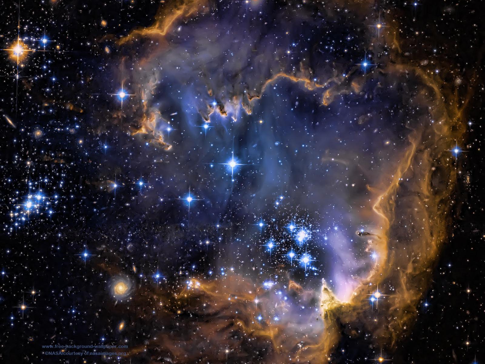 Galaxy Infant Stars Stars Background   1600x1200 pixels 1600x1200
