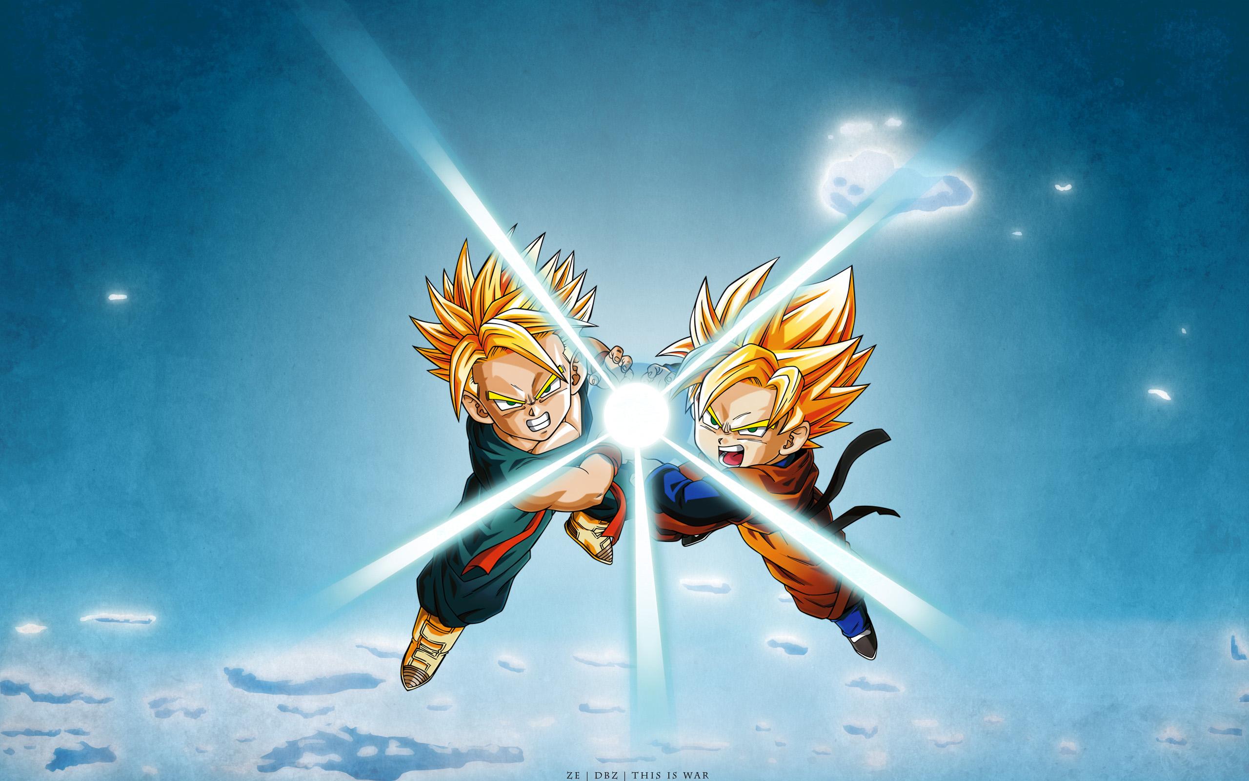 Dragon Ball Teamwork Google Skins HD Wallpaper 2560x1600