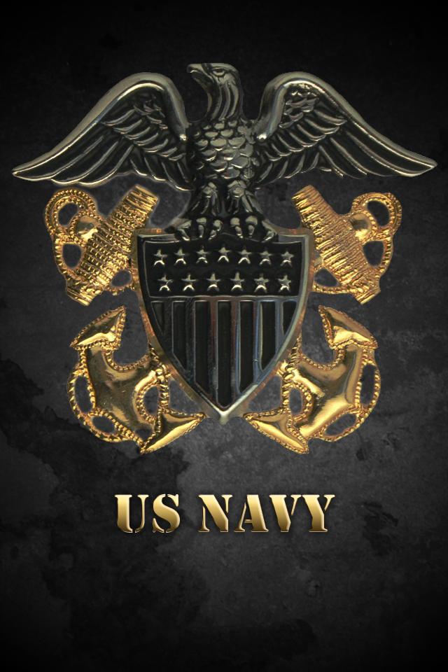 iphone navy wallpaper by phoenix1694 640x960