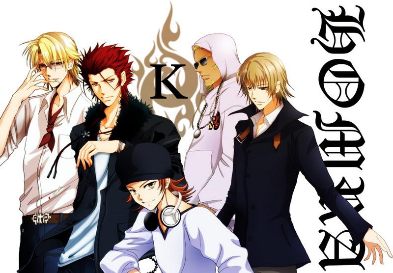 Anime Manga Wallpaper K Project Wallpaper 800x556