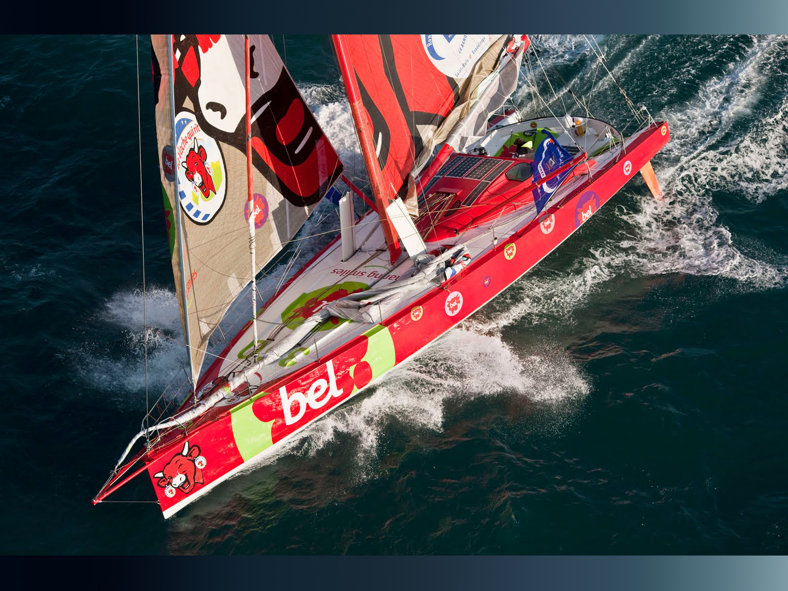Racing Sailboat Wallpaper Free sailing barcelona world race 2011 ...