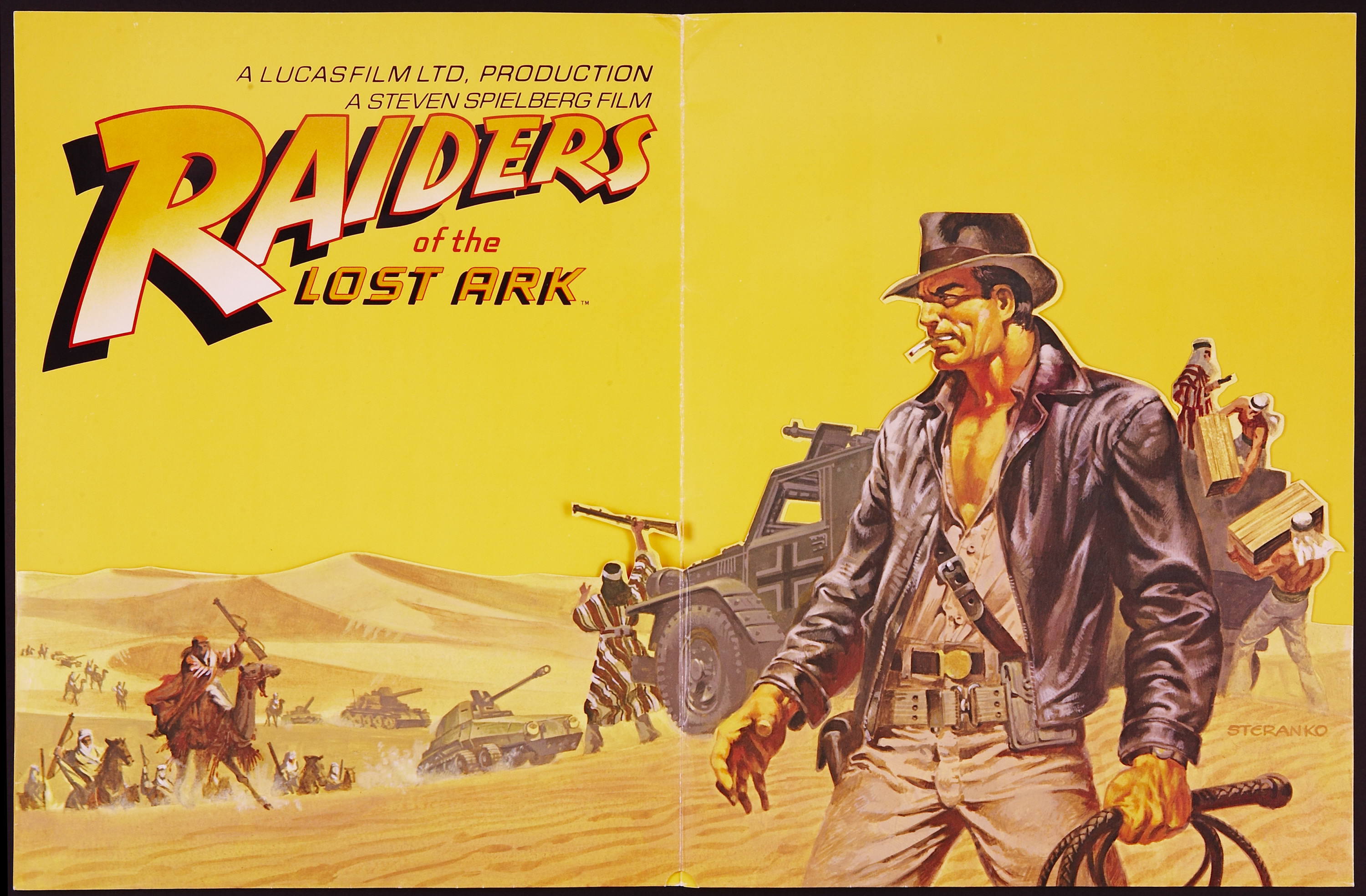 Raiders of the Lost Ark HD Wallpaper Background Image 3000x1969