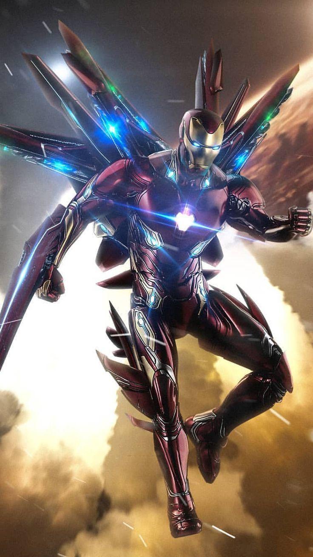 22 Iron Man Endgame Wallpapers On Wallpapersafari