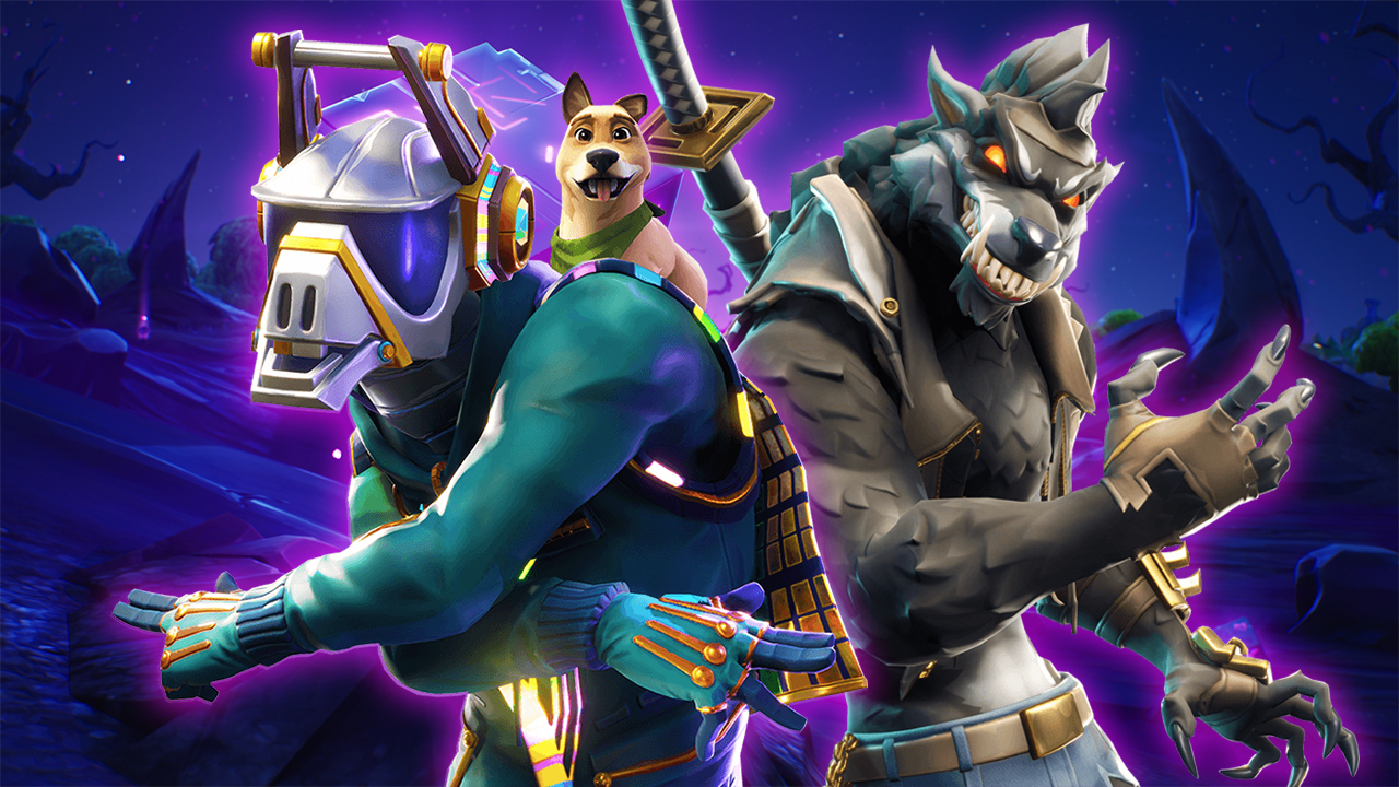 The Cool New Skins Of Fortnite Season 6 Dire Werewolf Calamity 1280x720