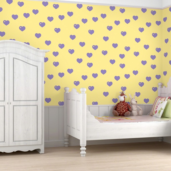 Colorful Patterned Wallpapers For Kids Rooms by Allison Krongard 600x600