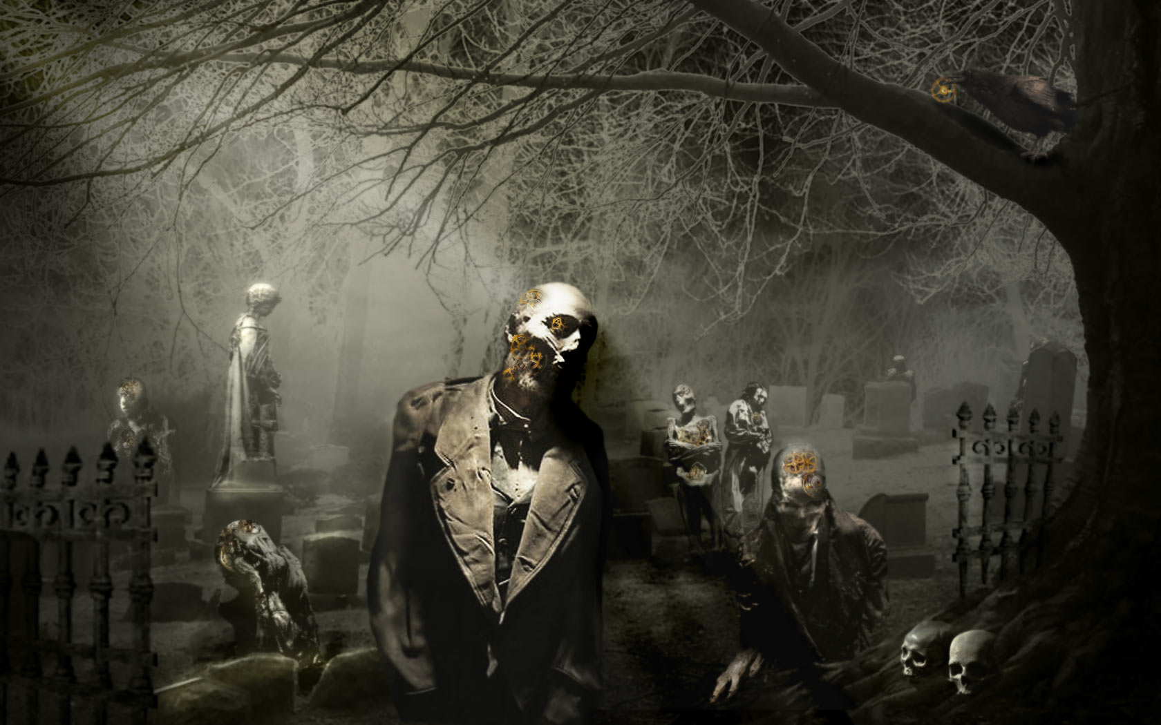 47+] Free Graveyard Wallpaper on WallpaperSafari