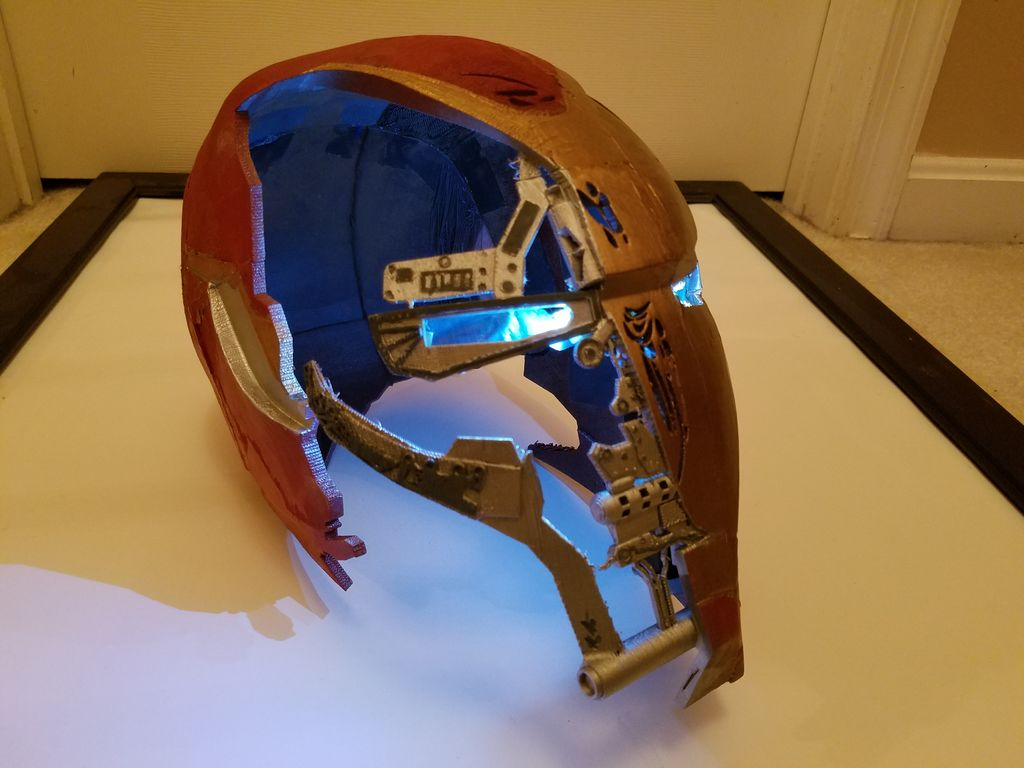 AvengersEndgame Iron Man Helmet 9 Steps with Pictures 1024x768