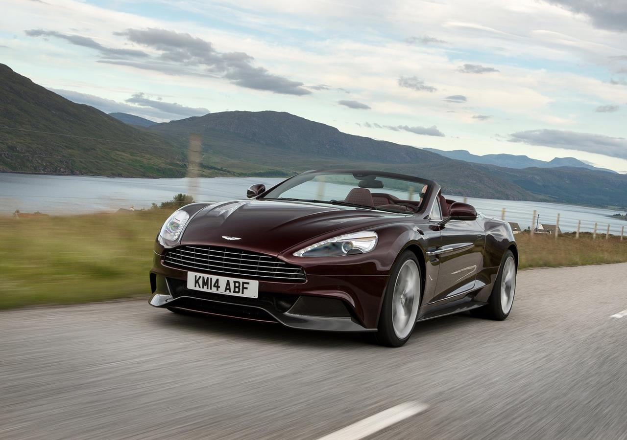 2015 Aston Martin Vanquish Volante Car Price in Pakistan Wallpapers 1280x900