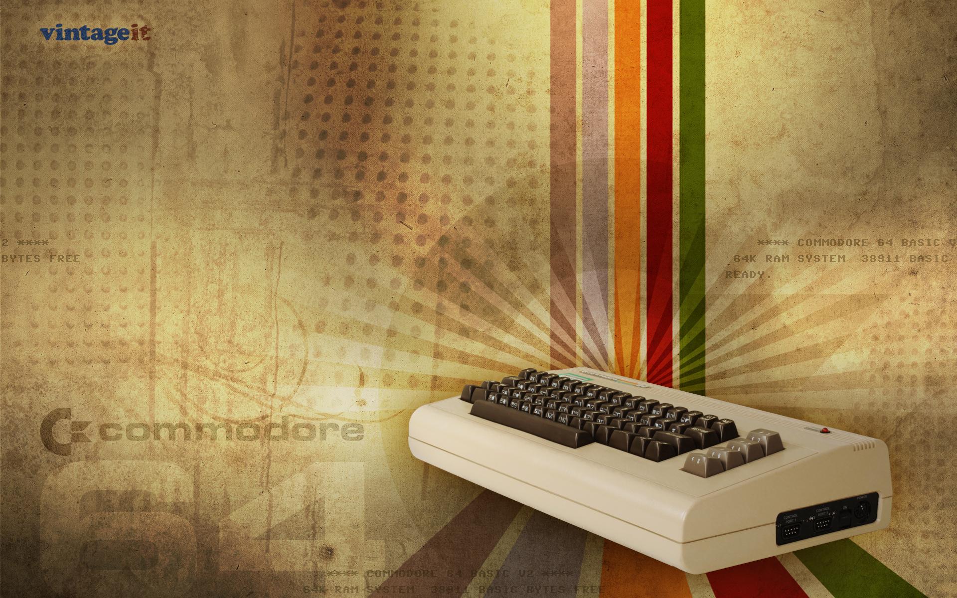 Commodore 64 vintage wallpaper   Desktop HD iPad iPhone 1920x1200