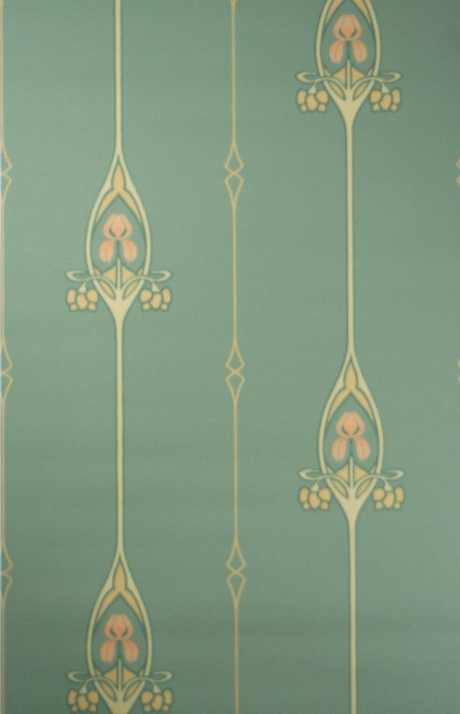 historic art nouveau wallpaper wallpapersafari. Black Bedroom Furniture Sets. Home Design Ideas