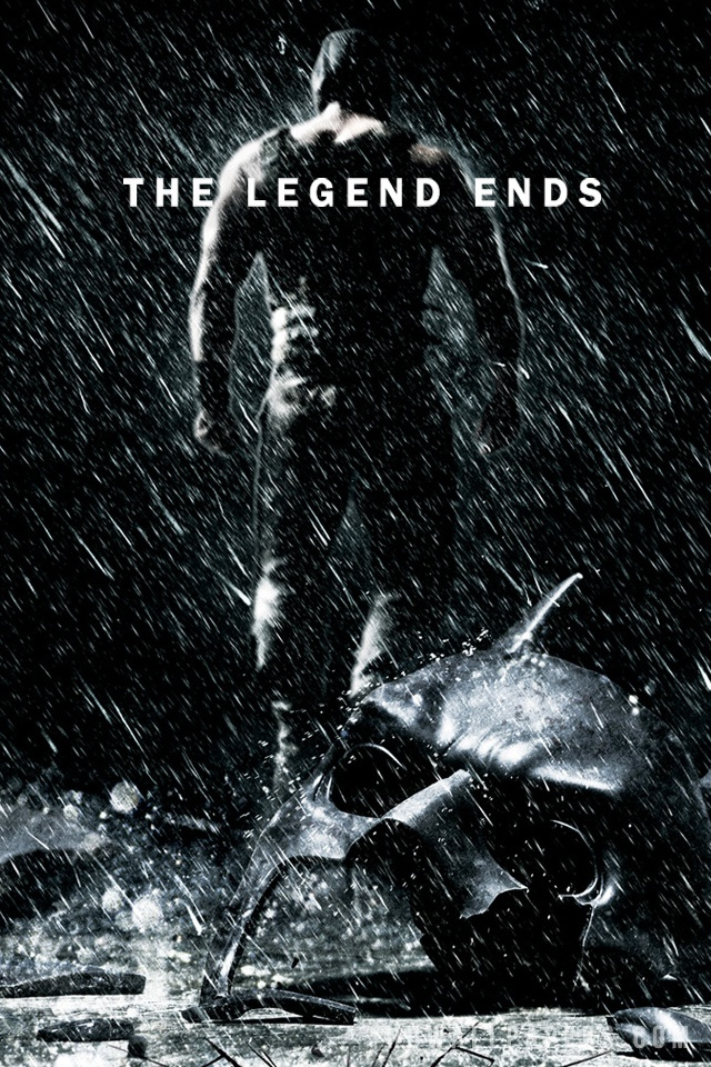 The Dark Knight Rises Official WallpaperBackground in 640x960 HD 640x960