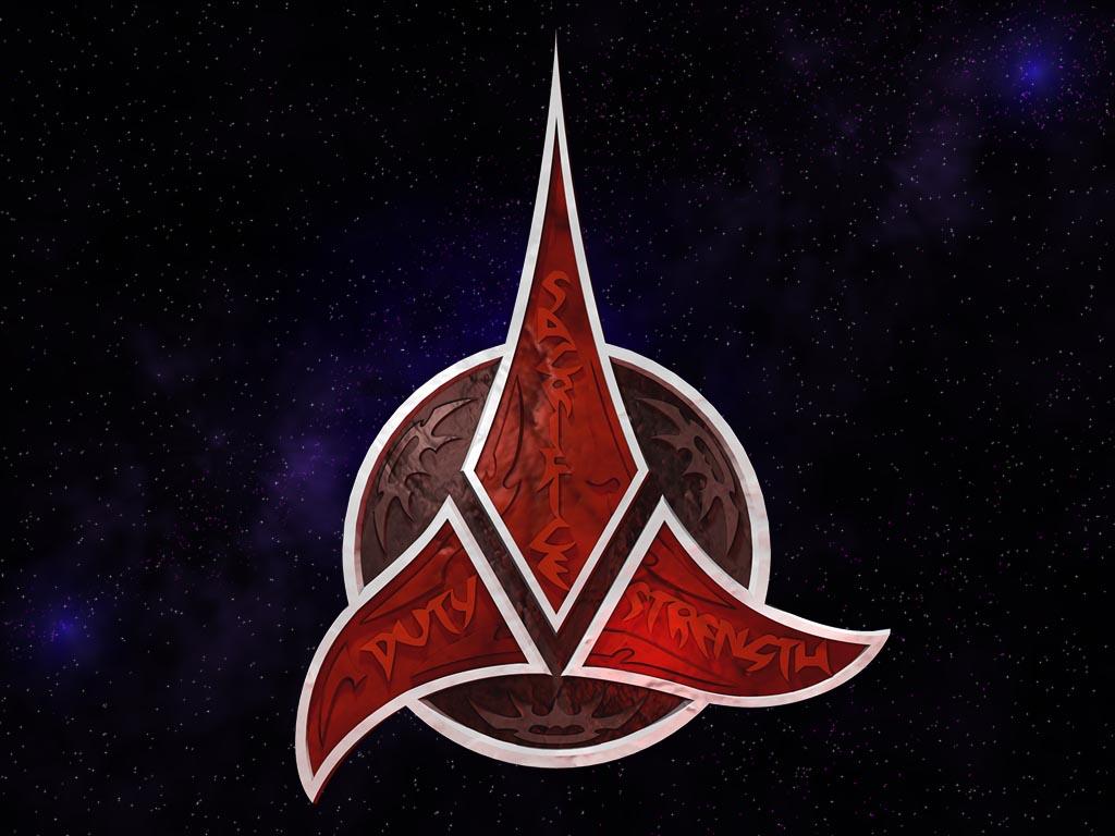 STAR TREK FAN TUMBLR Klingon Trefoil Wallpaper 1024 x 768 1024x768
