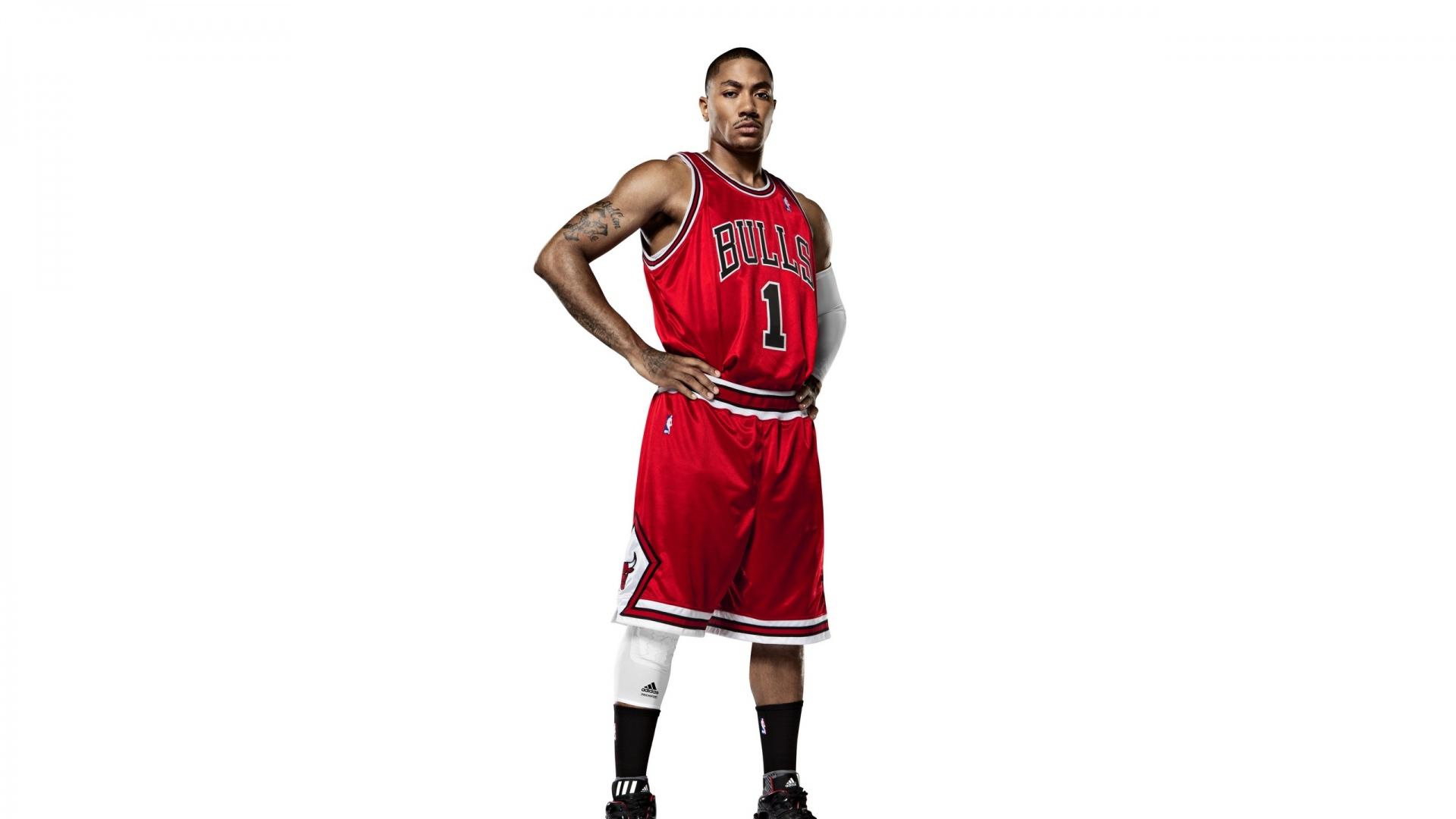 1920x1080 Wallpaper slam dunk derrick rose nba basketball chicago 1920x1080