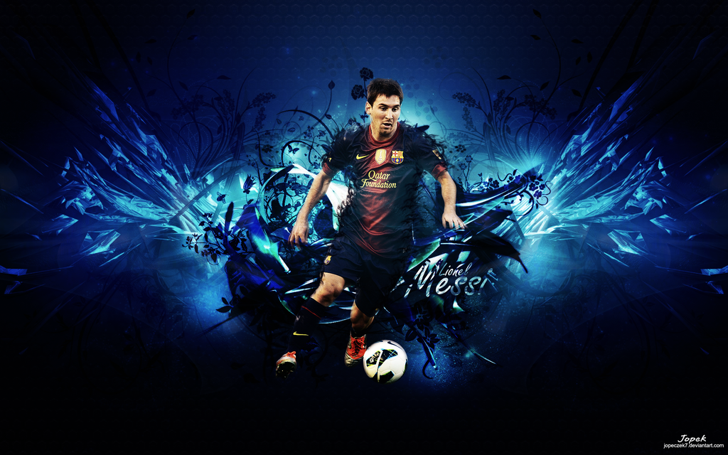 Lionel Messi wallpaper by jopeczek7 1024x640