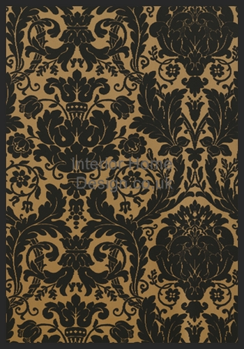 Black and Gold Backgrounds Black and Gold Damask Wallpaper Rose Gold 350x500