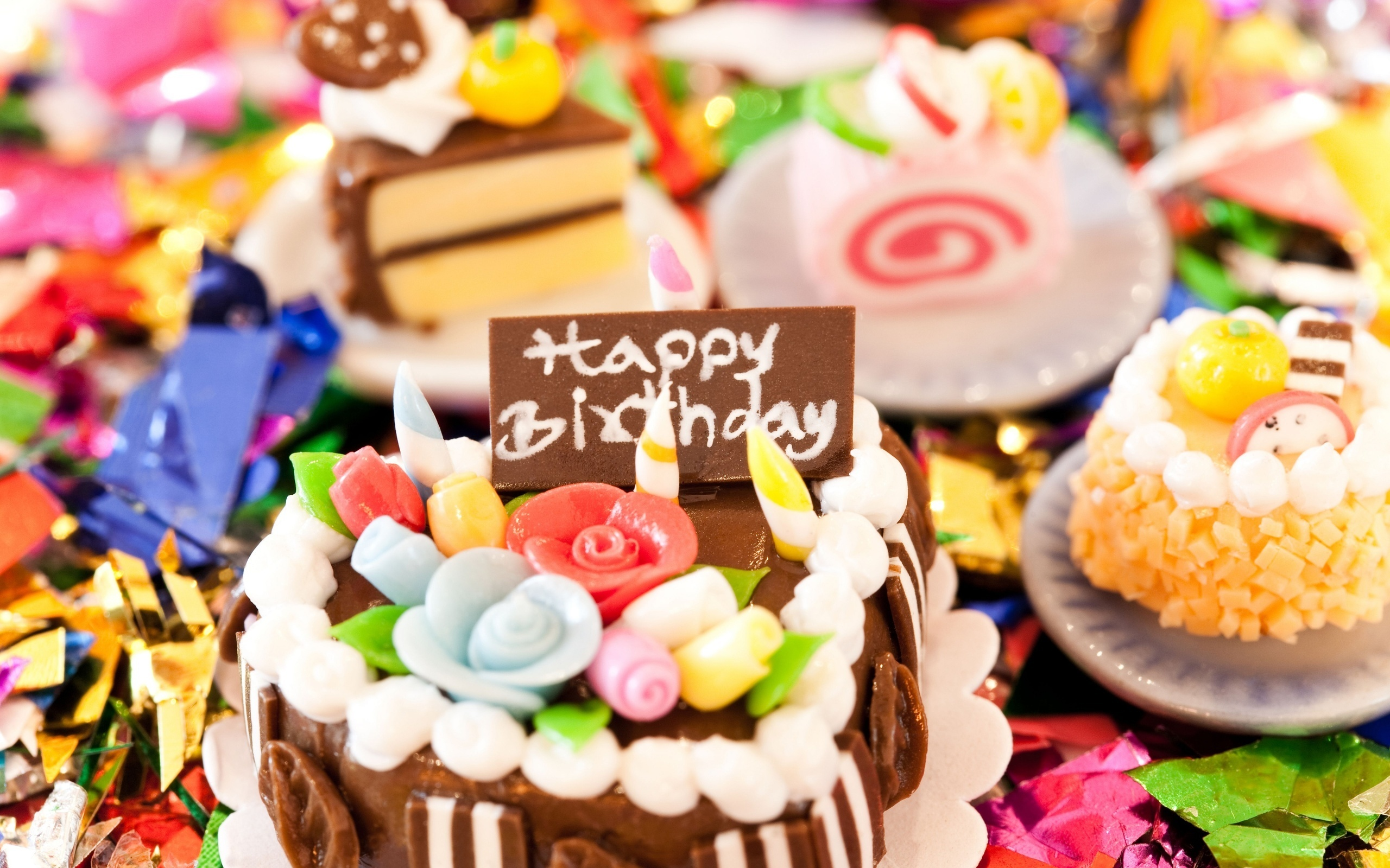 Birthday Cake wallpapers and images   wallpapers pictures photos 2560x1600