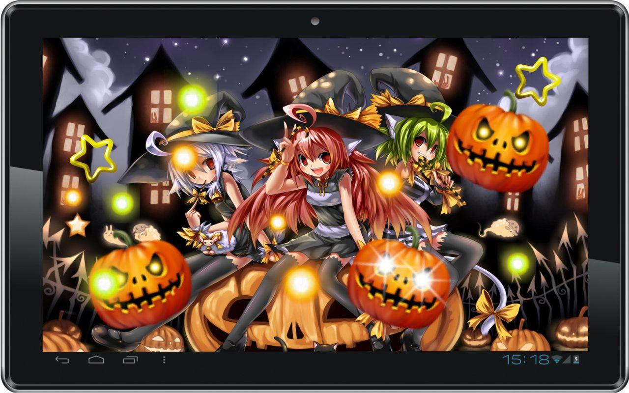 Halloween Anime Live Wallpaper   Android Apps on Google Play 1280x800