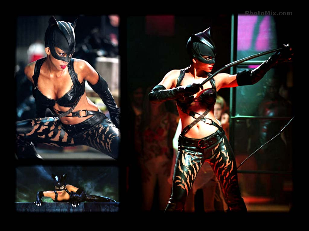 Catwoman Wallpaper Halle Berry Catwoman Halle berry 1024x768