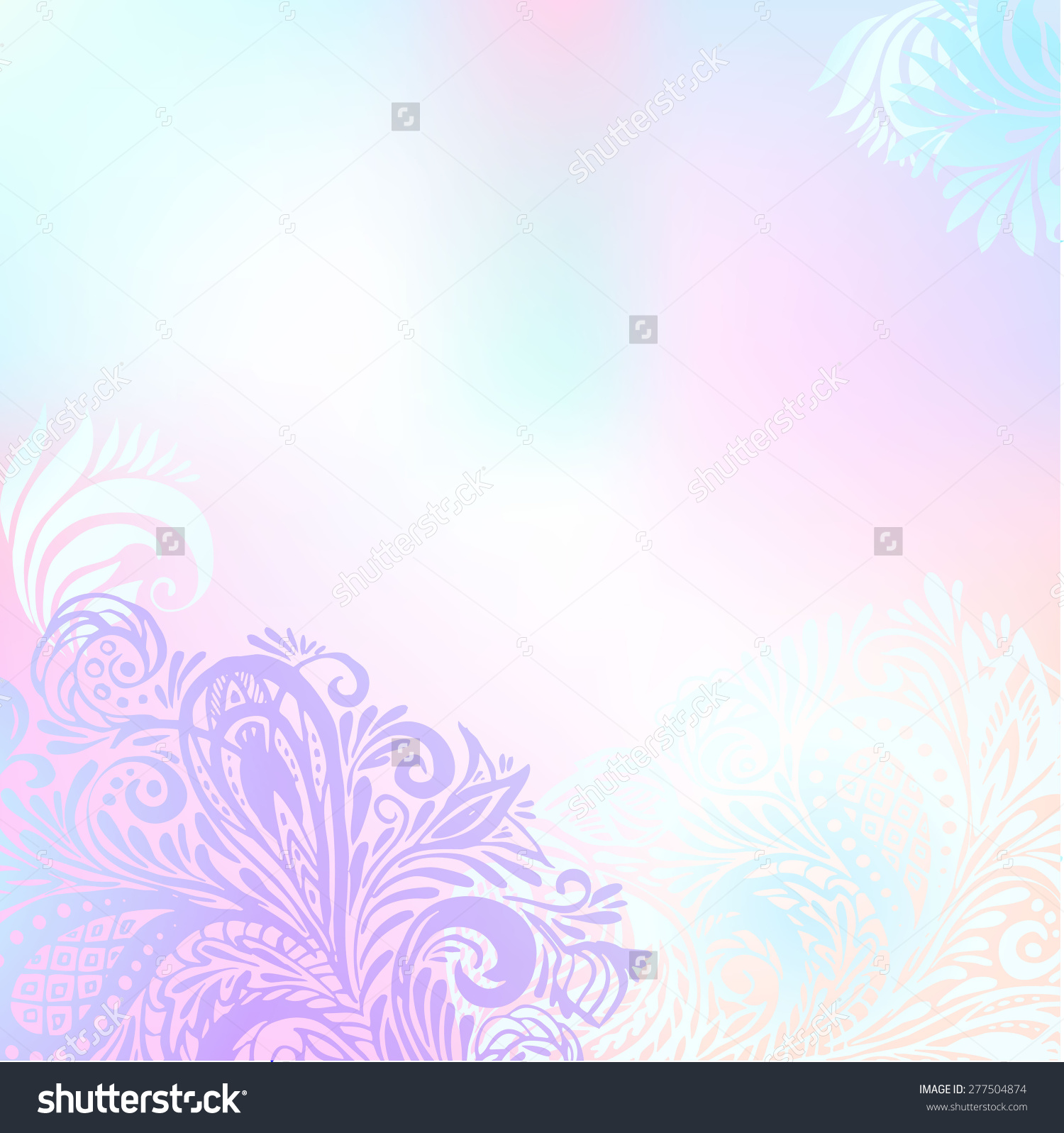 Free Download Floral Wedding Background Blank Greeting Cards