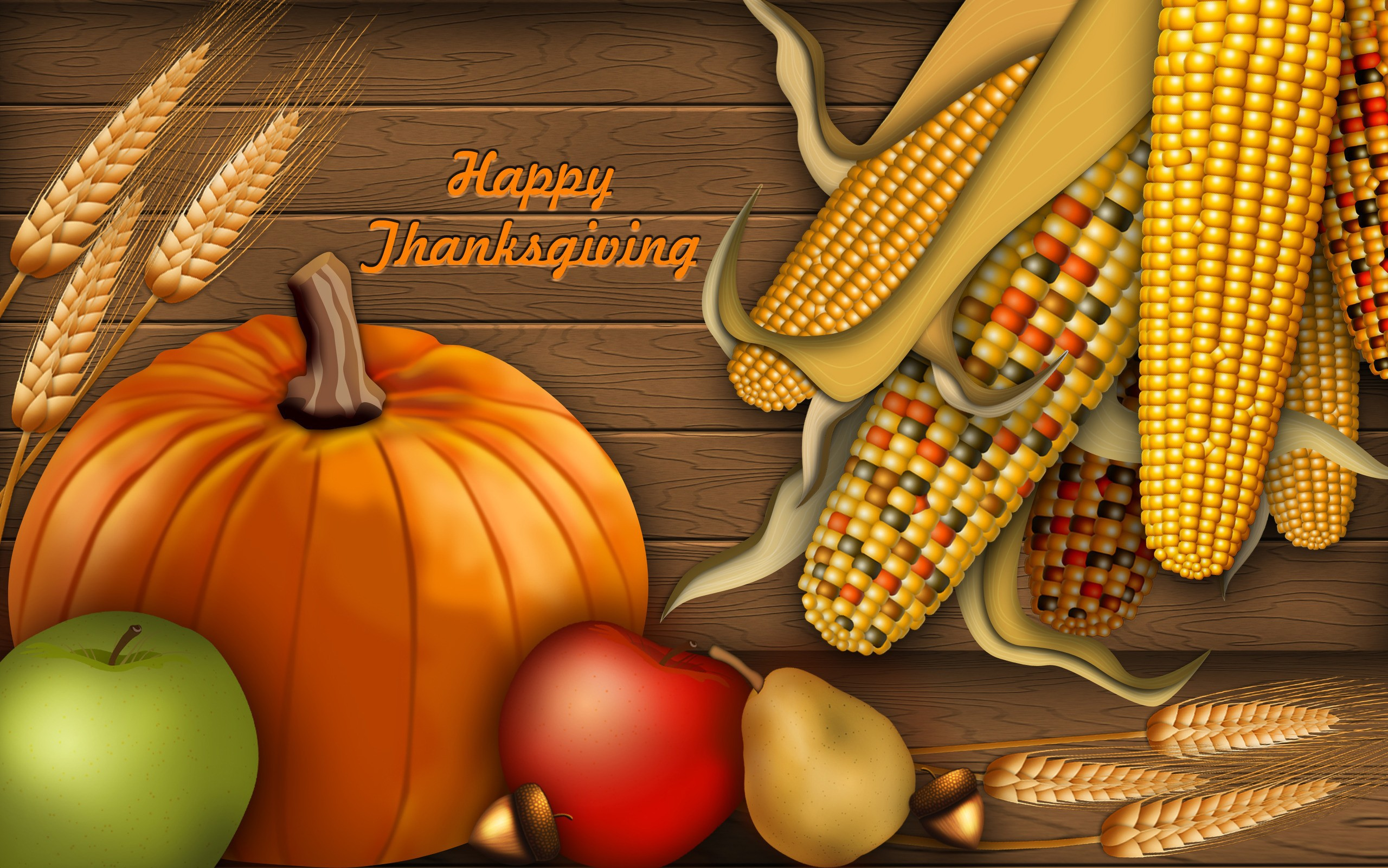 Thanksgiving Day HD wallpapers Collection 2560x1600